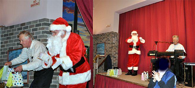 Santa Service in St. Joseph's, Clonsilla with musician Tony Barrett
